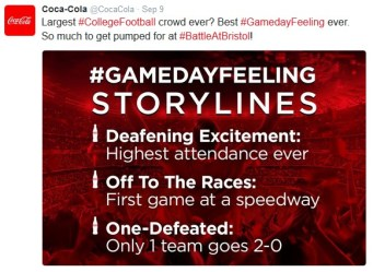 Coke's sports focus